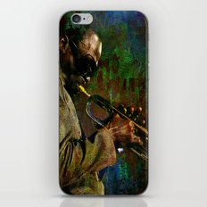 Miles D. iPhone & iPod Skin
