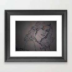 Yvonne Strahovksy ~ Agent: Walker  Framed Art Print