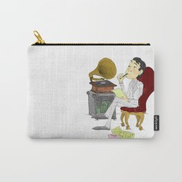 """""""Kisses on the Bottom"""" by Virginia McCarthy Carry-All Pouch"""