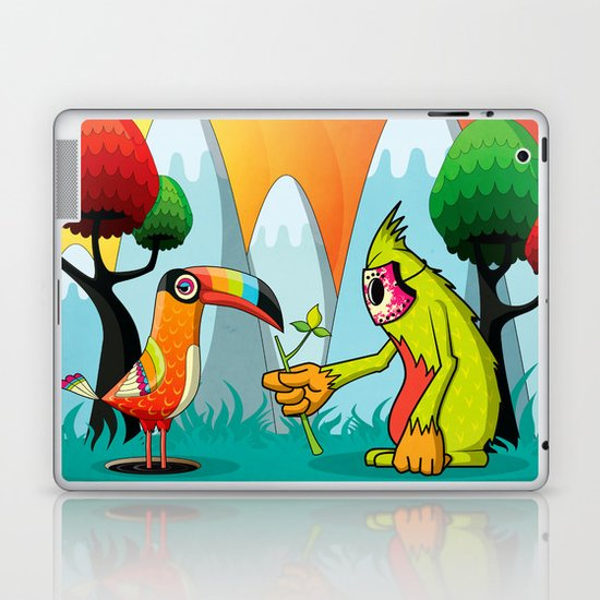 Magic Breed Laptop & iPad Skin