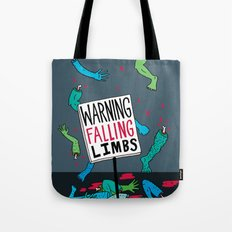 Falling Limbs Tote Bag