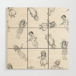 Puppets Invasion Wood Wall Art