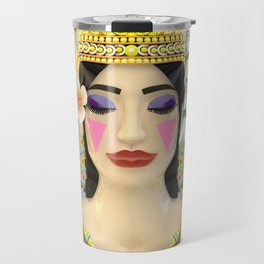 The Meditating Apsara Travel Mug