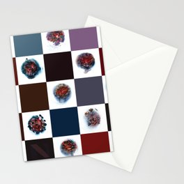 Rose City Monster's Nipple Quilt Stationery Cards