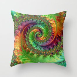 Follow Me Down Throw Pillow