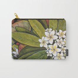 Tropical Calm Carry-All Pouch
