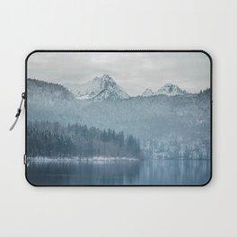 Lake and mountains - Bavarian Alps Laptop Sleeve