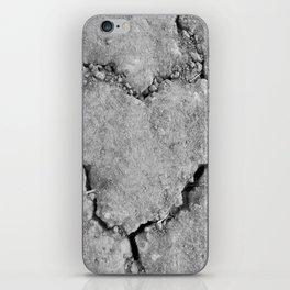 Ground Heart iPhone Skin