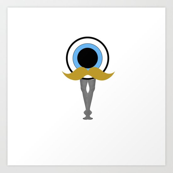 Eyeball Odyssey Art Print