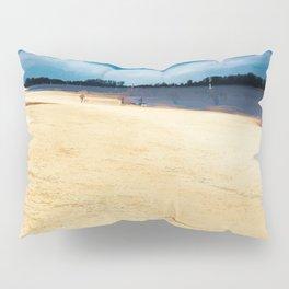 Walk on the riverside Pillow Sham