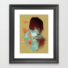 See It Through Framed Art Print
