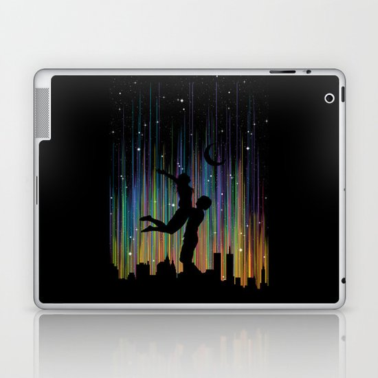 Bright Lights Laptop & iPad Skin