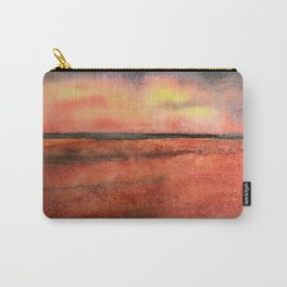 Orange at the Beach Carry-All Pouch