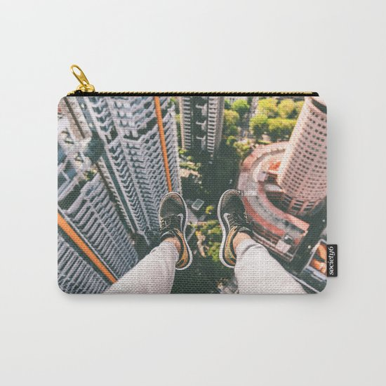 view high above top 5 Carry-All Pouch