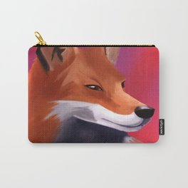 Fox Painting Carry-All Pouch