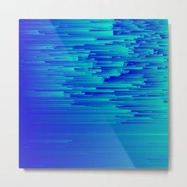 Speed Trap - Pixel Art Metal Print