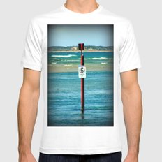 5 Knots Mens Fitted Tee White MEDIUM