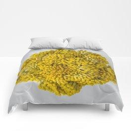 curry flowers II Comforters