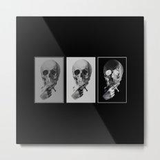 skull#05 Metal Print