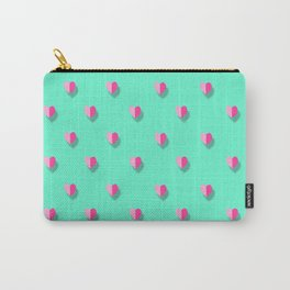love heart set seamless pattern Carry-All Pouch