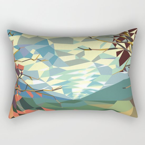Landshape Rectangular Pillow