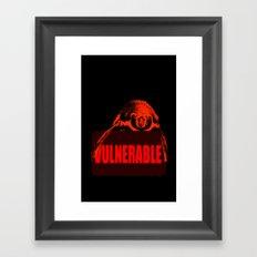 Vulnerable Humboldt Penguin Framed Art Print