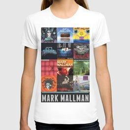 Mark Mallman - Album Compilation T-shirt
