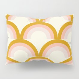 Moon rainbow pattern Pillow Sham