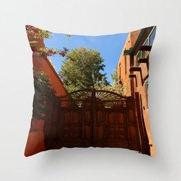 A New Mexico Entrance Throw Pillow