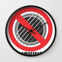 No Picking Wall Clock