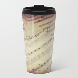 Music on the Wall Travel Mug