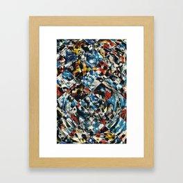 Pattern № 89 Framed Art Print