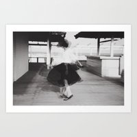 dirty dancing Art Prints featuring Dirty dancing by monicamarcov