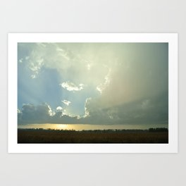 The Calm After The Storm  Art Print