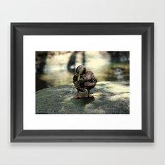 duck joy Framed Art Print