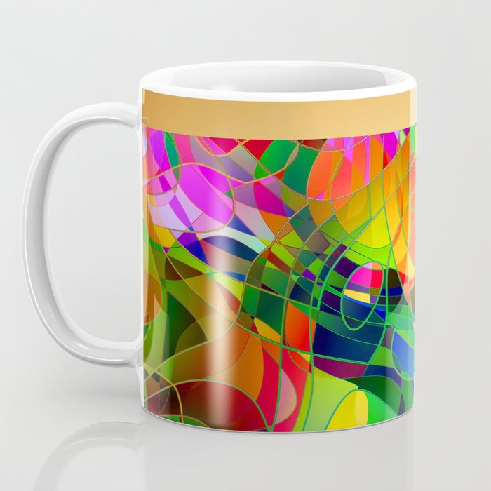 Bouquet Abstract Coffee Mug