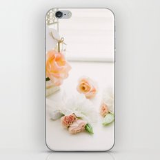 Flowers and Birdcage iPhone & iPod Skin