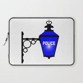Police Station Blue Light Laptop Sleeve