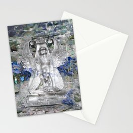 Sphinx in Roma - Blue Stationery Cards