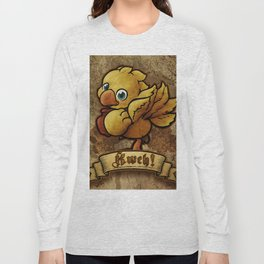 Chocobo Kwe ! Long Sleeve T-shirt