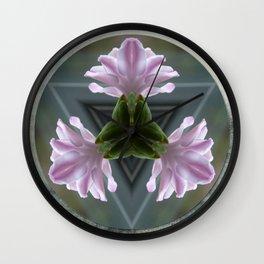 Kaleidoscope Hyacinth Wall Clock