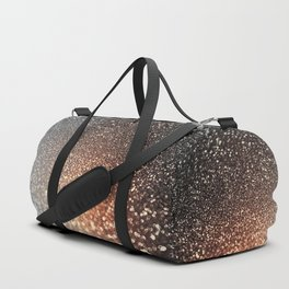 Tortilla brown Glitter effect - Sparkle and Glamour Duffle Bag