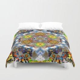 Upwards Redux - The Mandala Collection Duvet Cover