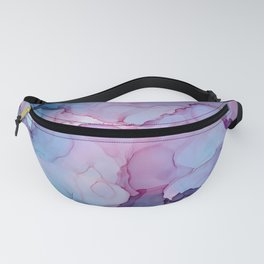Alcohol Ink - Dreamy Clouds Fanny Pack