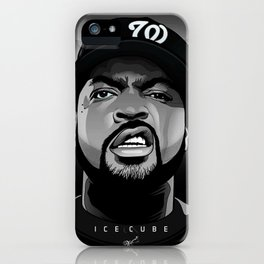 Ice Rapper iPhone Case
