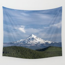 Mt Hood Oregon Wall Tapestry