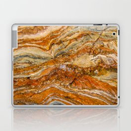 Orange Rock Texture Laptop & iPad Skin