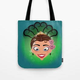 Tuti-Lady Flamenquerías/Character & Art Toy (Open eyes) Tote Bag