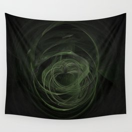 Fractal 17 - Saint Patrick's Day Love Wall Tapestry