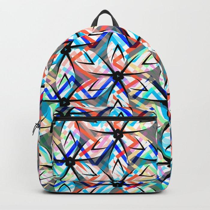 Floral exuberance Backpack